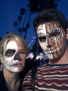 Day of the Dead Noah and me