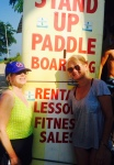 Birthday 2015 paddle board with suz
